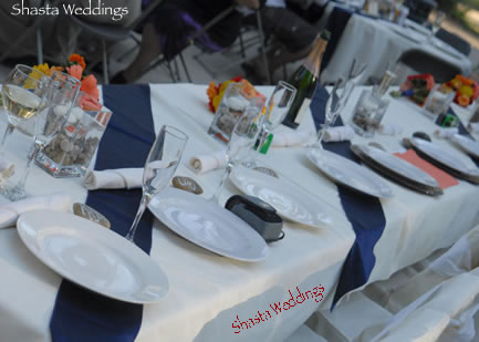 wedding reception dinner